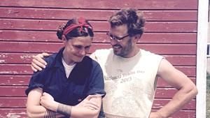 Courtney Grimes-Sutton and Asa Thomas-Train