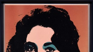 """""""Liz (F. & S.7),"""" lithograph by Andy Warhol"""