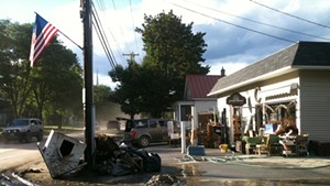 Surveying Irene's Destructive Path, in the Mad River Valley and Beyond
