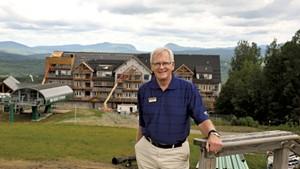 Bill Stenger at Q Burke Mountain Resort
