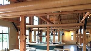 Inside the von Trapp Bierhall