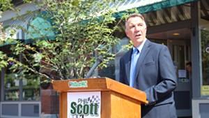 Lt. Gov. Phil Scott in September