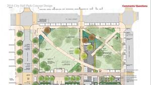 City Hall Park design