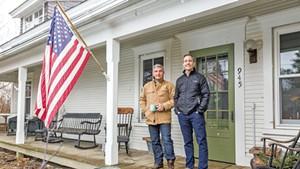 Al Turgeon (left) and Joe Haller