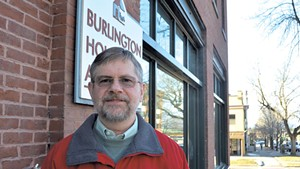 Mike Knauer, chair of the Burlington Housing Authority Board