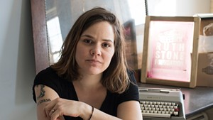 Bianca Stone at her studio in Brandon