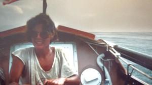 Kathleen Saville rowing to Samoa