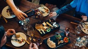 A tasting feast at Dedalus Wine