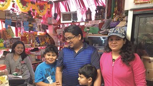 Ratna and Goma Khadka with their family