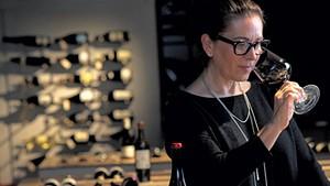 Lisa Strausser at Dedalus Wine Shop in Burlington