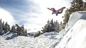 Kevin Pearce snowboarding