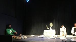 "Julian Hackney, Kate Magill and Andy Sebranek in Martin Gil's ""Allegory of Flowing Water"""