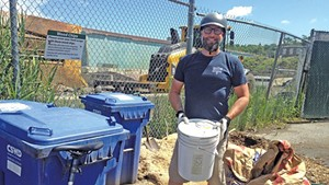 Despite 'Ick Factor' and New Fees, Drop-Off Composting Catches On