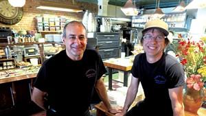 Avery Rifkin (left) and Tim Elliott