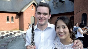 Noah Kay and Michelle Nguyen