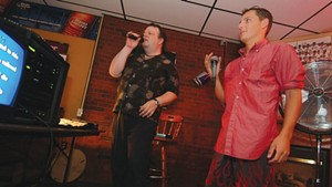 Karaoke at JP's Pub