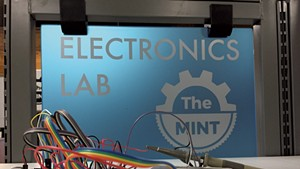 A glimpse inside the electronics lab of the Mint