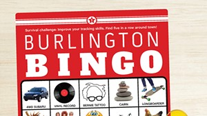 Challenge Yourself to a Game of Burlington Bingo