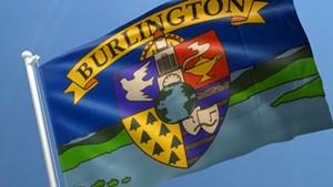 Current Burlington flag