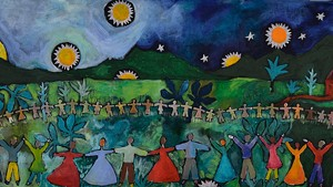 """Mary Hill, """"Gather Together"""""""
