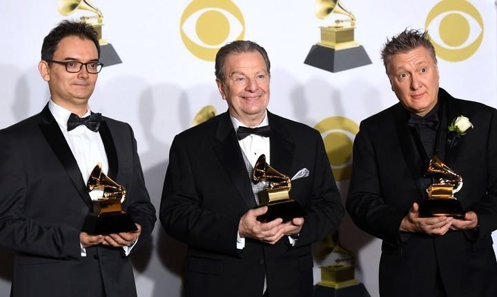 Left to right: Héctor Del Curto, Pablo Ziegler and Claudio Ragazzi - STOWE TANGO MUSIC FESTIVAL