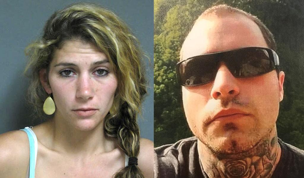 Erika Guttilla, left, and Corey Cassani - VERMONT STATE POLICE