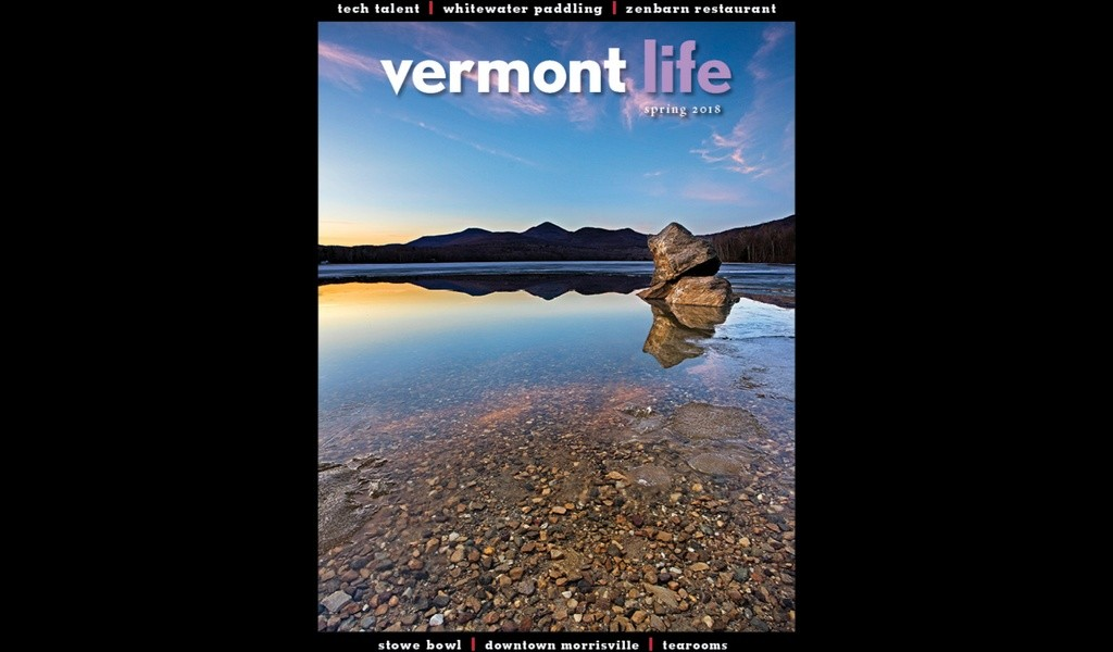 The most recent cover - VERMONT LIFE