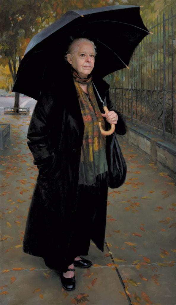 """Defiance of Erebus"" by Ellen Cooper - COURTESY OF HELEN DAY ART CENTER"