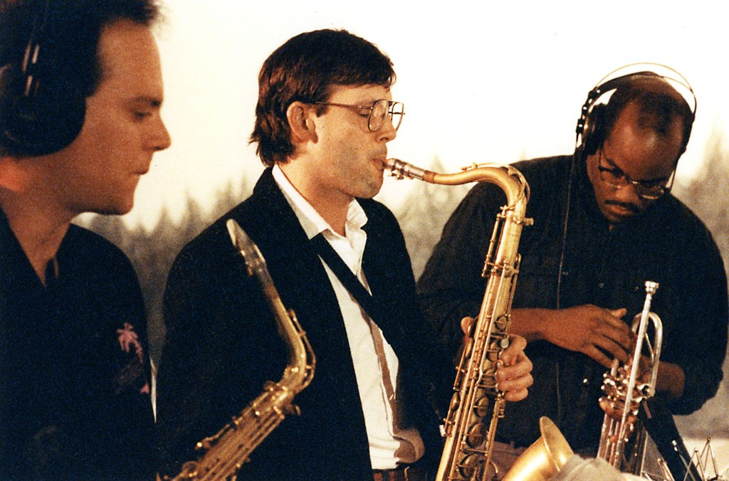 Left to right: Dave Grippo, Russ Remington and Joey Sommerville - COURTESY OF BURLINGTON DISCOVER JAZZ FESTIVAL