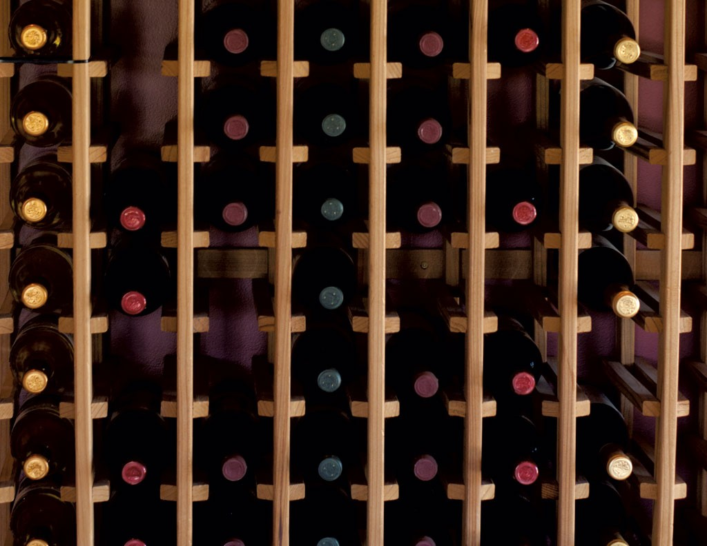 In the tasting room at Vesco Ridge Vineyards - HANNAH PALMER EGAN