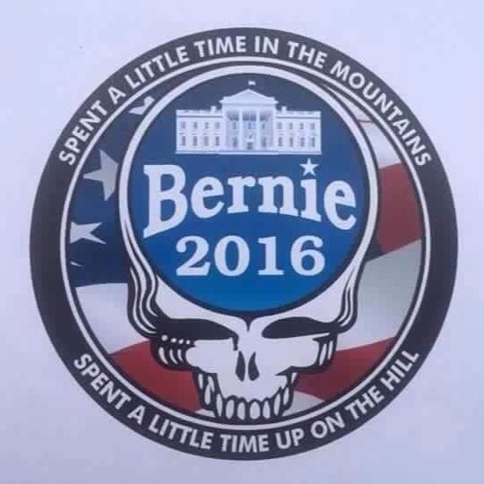 ILLUSTRATION COURTESY OF DEADHEADS FOR BERNIE