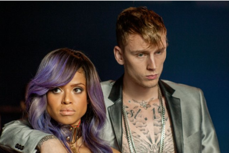 Mbatha-Raw and Machine Gun Kelly. - RELATIVITY MEDIA