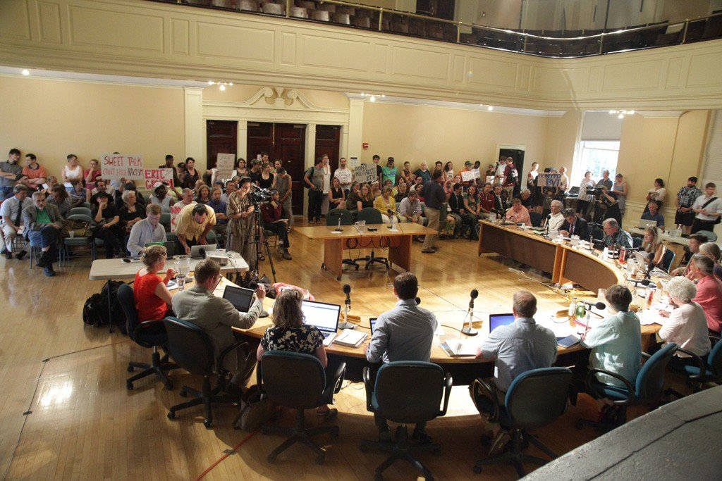 Monday's city council session - MATTHEW THORSEN