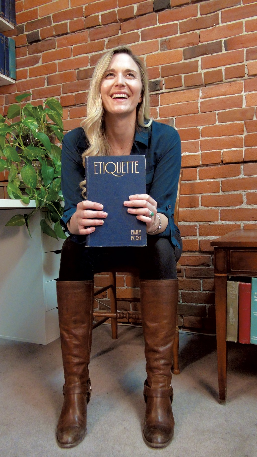 The Emily Post Institute's Lizzie Post Talks 'Higher