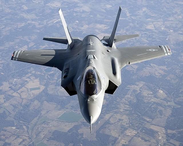Air Force F-35 - FILE