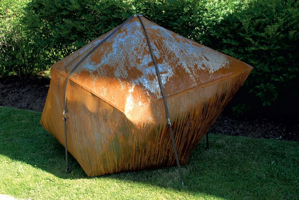 """Reverse Trapezohedron"" by Rodrigo Nava - HELEN DAY ART CENTER"