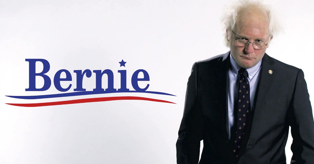 James Adomian as Sen. Bernie Sanders - COURTESY OF FUNNY OR DIE