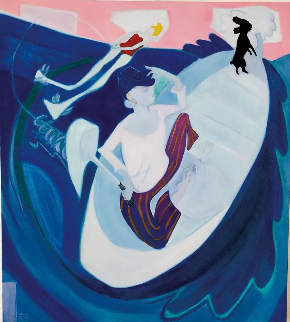 Judith Richter Nude art review: 'human nature/nature human,' bundy modern | art