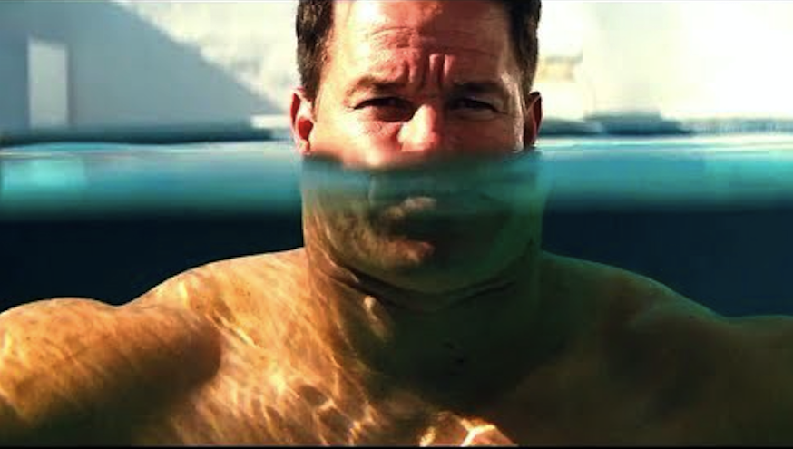 Mark Wahlberg as a tiny-brained bodybuilder in Pain and Gain - PARAMOUNT PICTURES