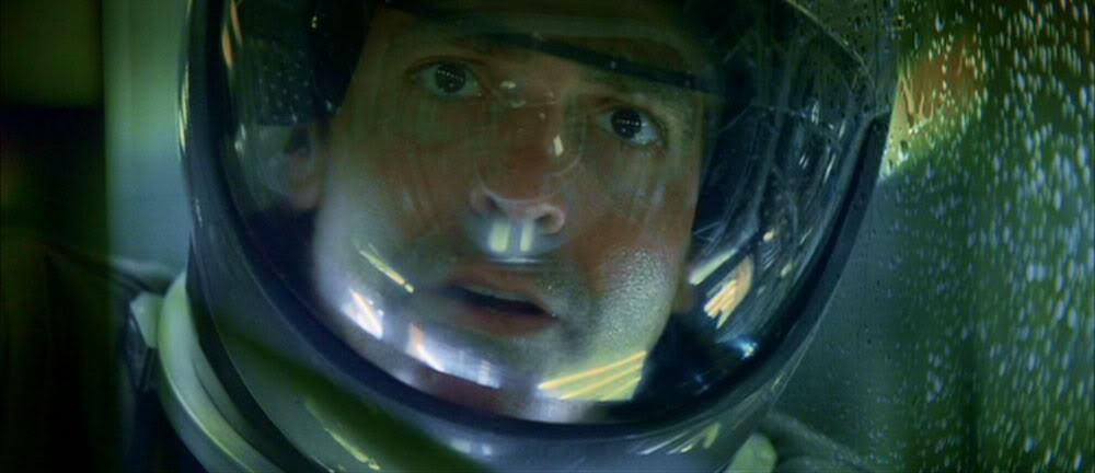 Clooney's expression aptly sums up the ambiguity in Solaris. - TWENTIETH CENTURY FOX / LIGHTSTORM ENTERTAINMENT