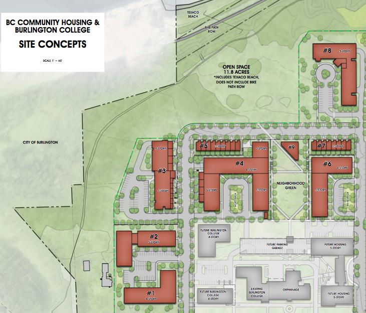 Park, Housing Planned For Former Burlington College