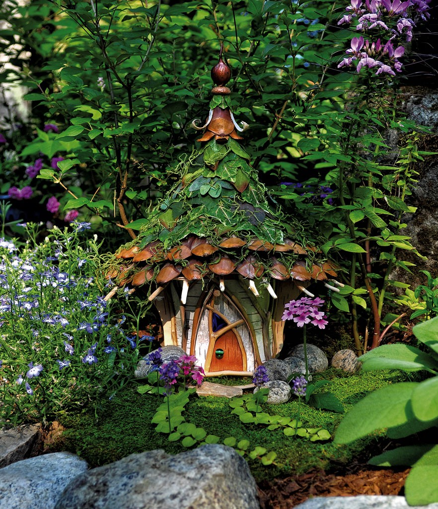 Art Review Fairy Houses From Nature By Sally J Smith