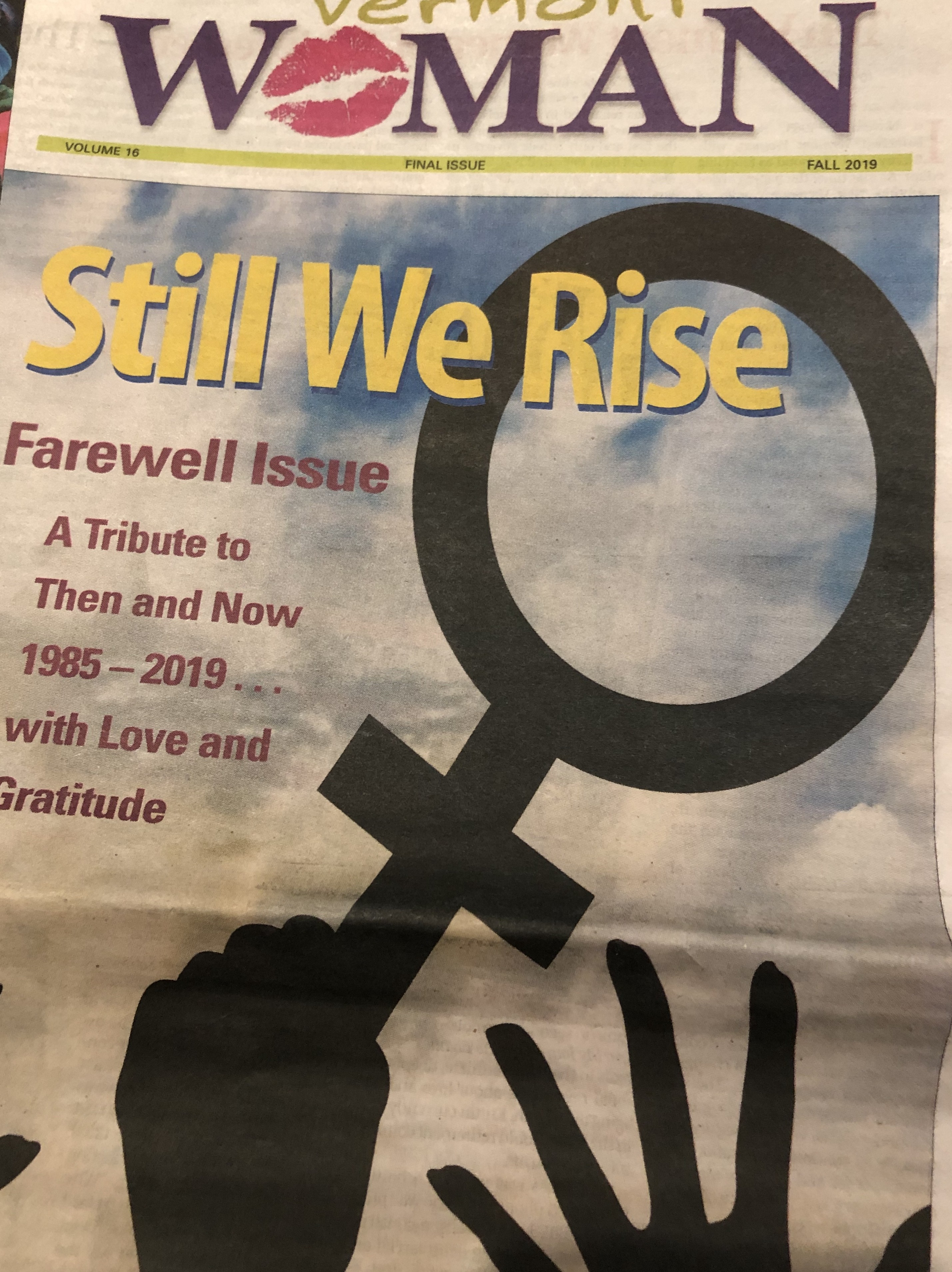 Media Note: Vermont Woman Publishes Final Issue, Seeks Buyer
