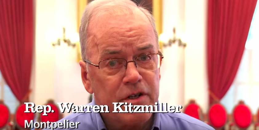 Warren Kitzmiller in the pro-Sanders video - YOUTUBE