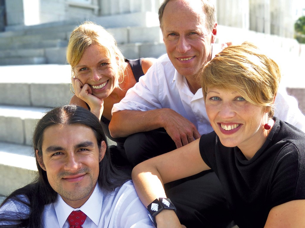 Clockwise from top left: Annemieke McLane, Jeremiah McLane, Sarah Cullins, Daniel Gaviria - COURTESY OF PIAZZOLLA PROJECT
