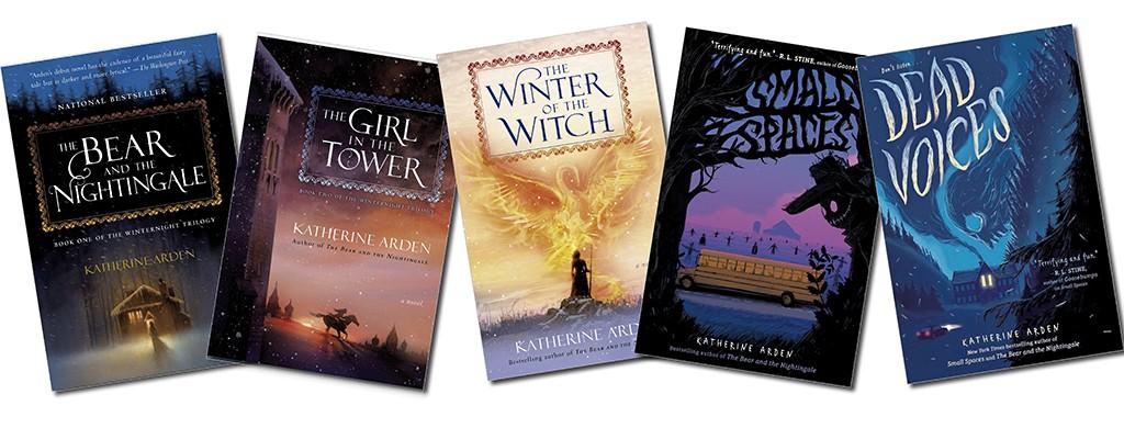 Books by Katherine Arden - COURTESY PHOTO
