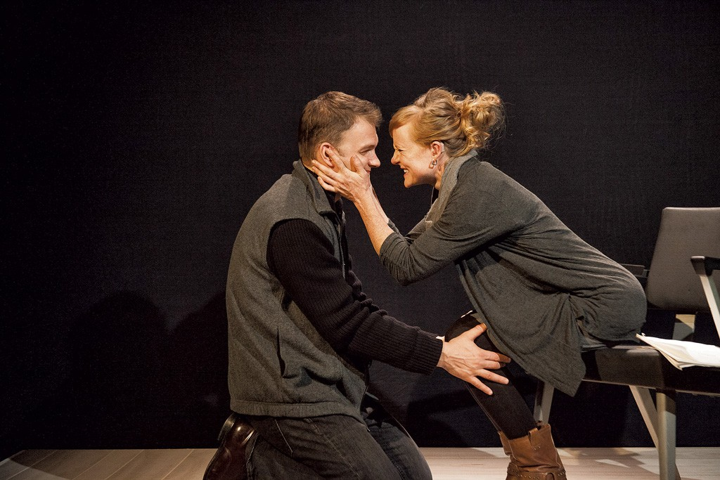 Dale Dymkoski (Billy) and Aly Perry (Sylvia) - COURTESY OF LINDSAY RAYMONDJACK