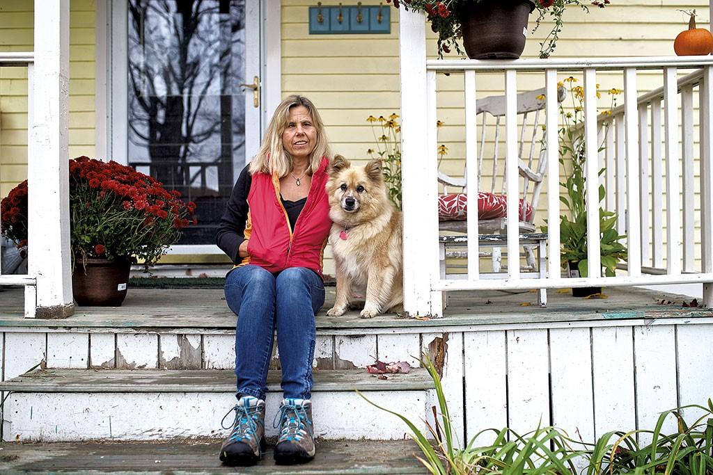 Jenny Carter and Foxy - BEN DEFLORIO