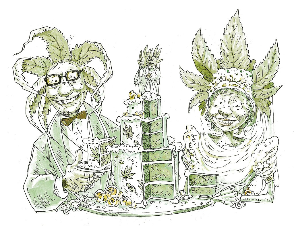 The Etiquette and Legalities of Wedding Weed