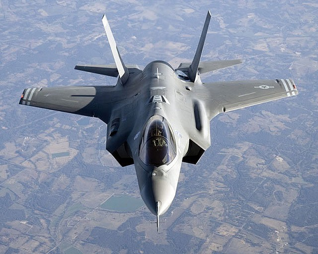Air Force F-35 fighter, scheduled to replace Vermont Air National Guard's F-16s.